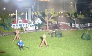 Bymodellen overdækkes 1998 (1)