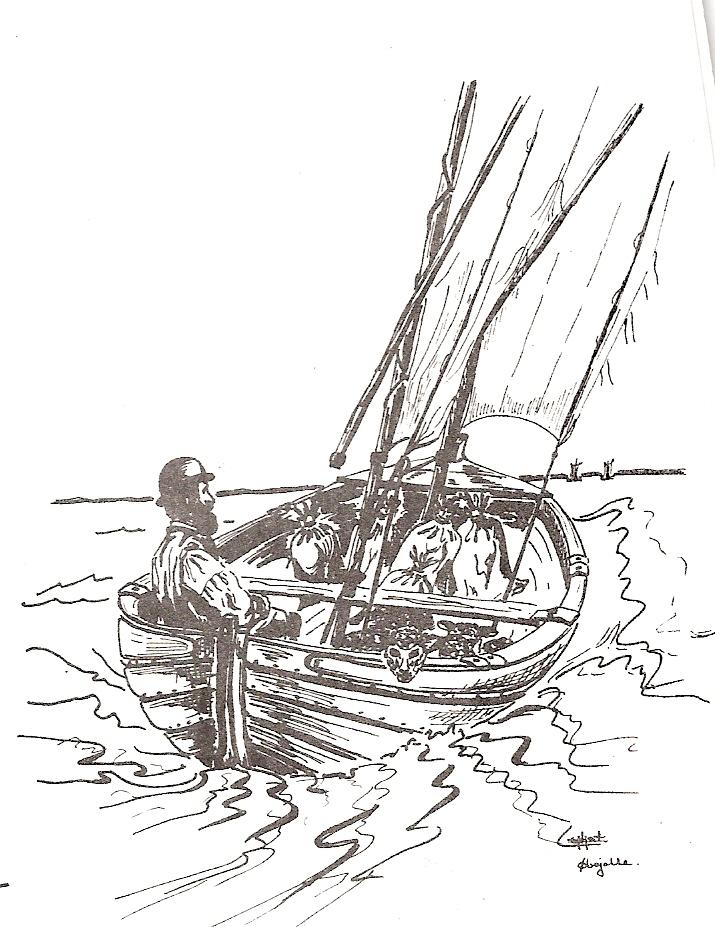 Smakkejollen som transportbåd